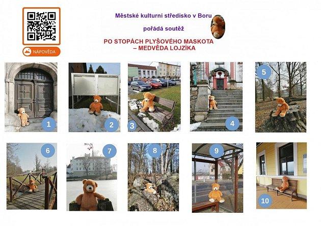 Místa, která navštívil Lojzík.