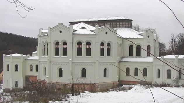 Windischgratzova jízdárna Tachov Světce. Druhá největší jízdárna ve střední Evropě.