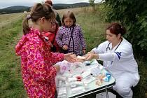 Spolek Stonožek ze Stráže připravil pro děti zábavné odpoledne, které podpořilo dobrou věc.