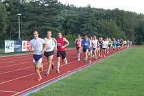Další rekord Zátopkova týdne padl v počtu startujících. Na trať 5000 metrů se v neděli vydalo 56 běžců. Po desítce a pětce je 27. července v Plzni na programu maratón.
