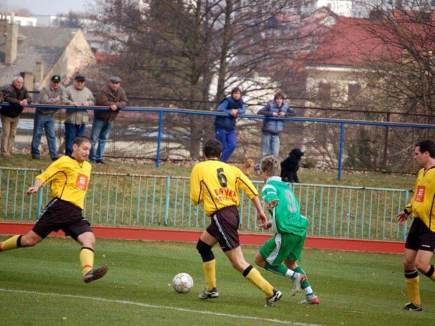 Fotbalové utkání Tachov - ZČE