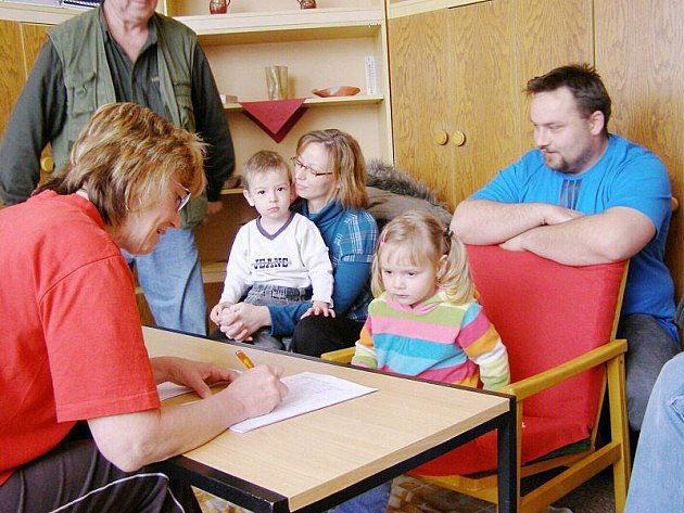 K zápisu v Kladrubech přišlo dvacet dětí