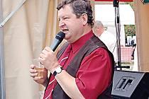 Víkendové setkání Kostelců se líbilo také baviči a imitátorovi Václavu Faltusovi.