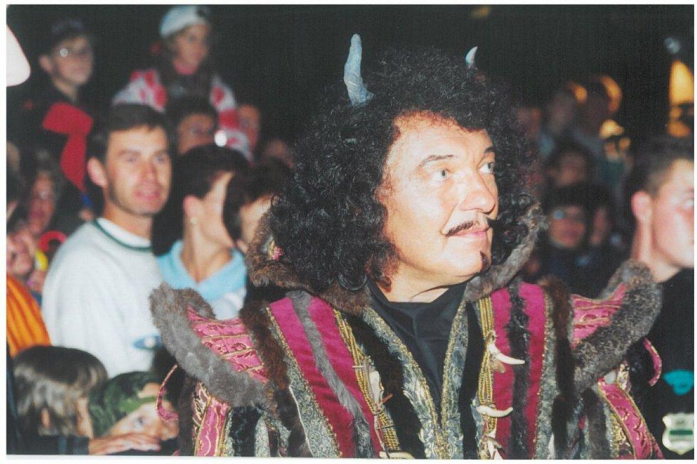 Z natáčení pohádky před dvaceti lety. Foto: Vladimír Vítek