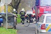 Hasiče během sobotního podvečera zaměstnal nahlášený požár v jednom z bytů v tachovské školní ulici.