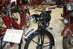 Sbírku historických motocyklů i jiných věcí, mohli vidět návštěvníci borského zámku