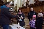 Pro betlémské světlo si Kladrubští chodili do katedrály
