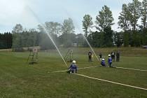 Ze soutěže dobrovolných hasičů