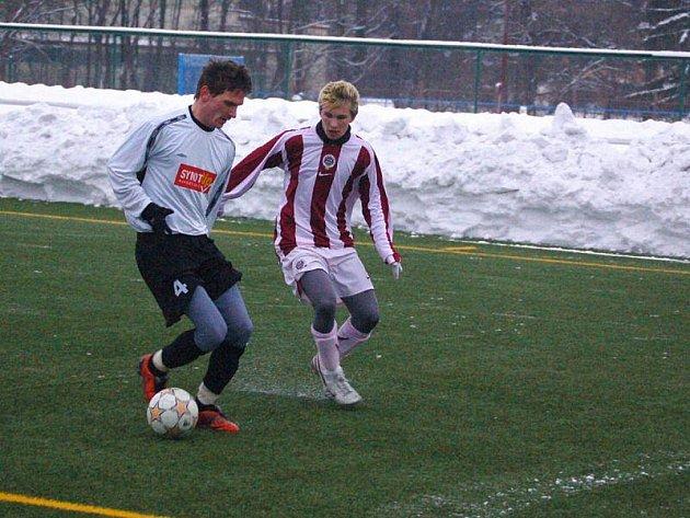 V druhém přípravném utkání hráli tachovští fotbalisté se Spartou Praha U18 2:2