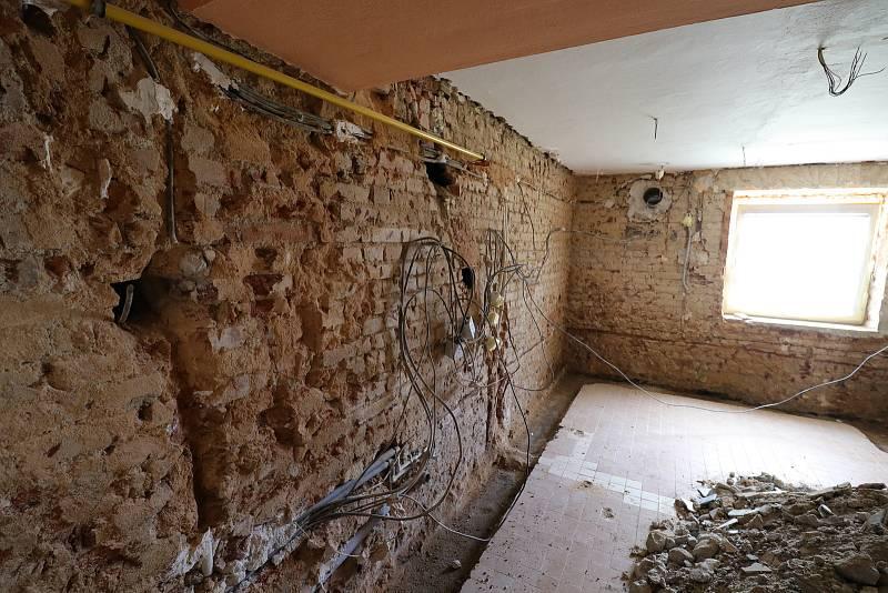 Z rekonstrukce v mateřské škole Prokopa Velikého v Tachově.