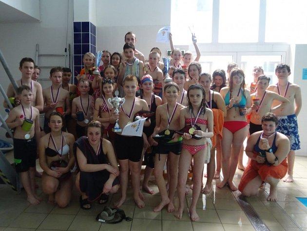 Účastníci letošního ročníku soutěže Přimdský delfín.