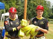 V Novém Sedlišti se konala soutěž v požárním sportu