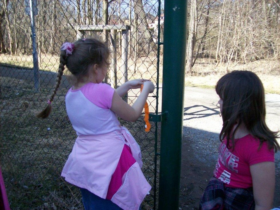 Děti z družiny ZŠ Hornická v Tachově se vydaly hledat poklad