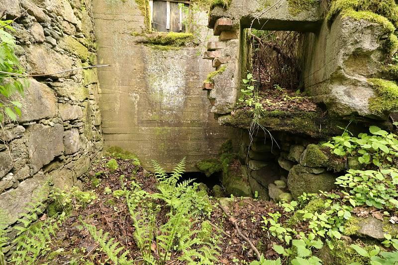 Z Benišova mlýna u Kladrub.