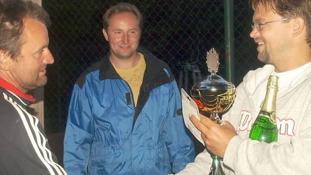 Tenisový turnaj Grand prix Chodová Planá.