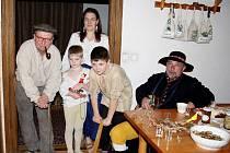 V rodině Havránkových z Kladrub přivítali v pondělí večer Lucei stylově.