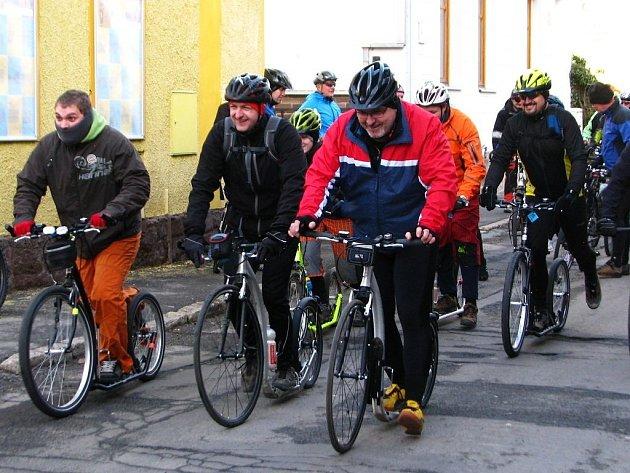 S rokem 2012 se loučili na kolech i koloběžkách.