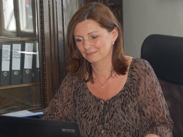 Martina Němečková, starostka Plané