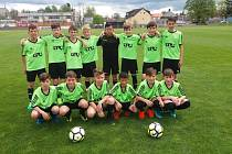 Tým mladších žáků FK Tachov.
