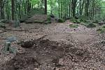Les ukrýval část leteckého majáku