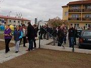 Slavnostní otevření Sportovně relaxačního parku v Kladrubech.