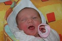 Denisa Křehlíková z Tachova se v domažlické porodnici narodila 28. ledna v 18.24 hodin s váhou 3,25 a mírou 48 cm. Rodiče Petra Stoklasová a Jaroslav Křehlík věděli, že budou mít holčičku, a na svět ji přivítali společně.