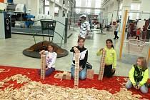 Děti z Tachova navštívily plzeňskou Techmanii.