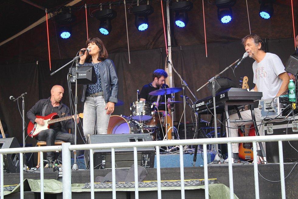 Lázeňská struna, koncerty skupin Semtam a AG Flek.