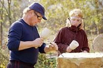 Kamenosochařský víkend v Pernolci