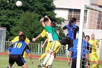 Fotbal – 1. kolo poháru ČMFS: FK Tachov – FC Buldoci Karlovy Vary 2:3 (1:1)