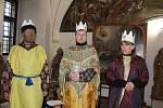 Tříkrálovou sbírku a tím hospic sv. Jiří podpořil v neděli v tachovském muzeu také tříkrálový koncert. Do kostýmů tří králů se oblékli pracovníci muzea.