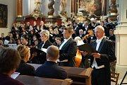 V prostorách kostela svatého Mikuláše byl zahájen dvanáctý ročník Hudebního léta Borska.