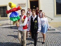 Během nedělního odpoledne se v Tachově oslavila smrtná neděle.