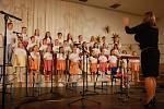 Z vánočního koncertu Tachovského dětského sboru.