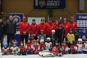 Akce v Tachově přilákala budoucí hokejisty