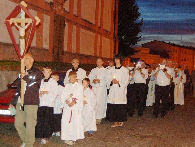 Loretánské slavnostise konaly o víkendu v Boru