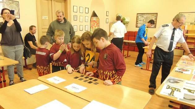 Družstvo kladrubských mladých hasičů reprezentovalo sbor na 18. Zimní soutěži mladých hasičů v Domažlicích.