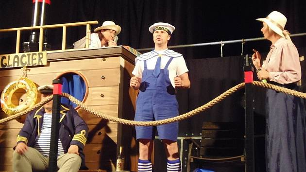 Divoch nacvičoval své představení Titanik půl roku.