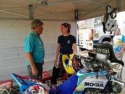 V táboře Ollie Racing Teamu.