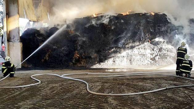 Požár u Ctiboře