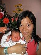 Thi Hien a Than Van Thanh z Rozvadova se 8. září jednu minutu po osmé hodině ráno narodil ve FN v Plzni prvorozený syn Than Thanh Minh (3,11 kg/50 cm).
