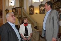 Návštěva Komise pro podporu venkova v Konstantinových Lázních a Chodském Újezdu