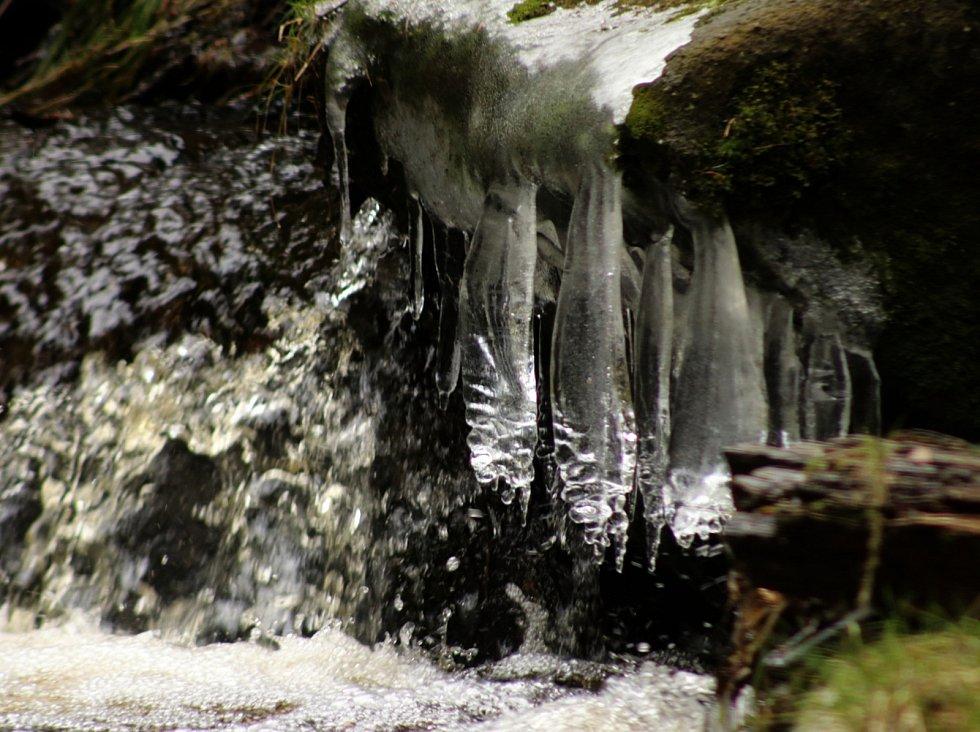 Hraniční potok, Buchar a Kollerova huť