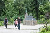 Památky Plzeňského kraje ve zmenšeninách v mariánskolázeňském Boheminiu.