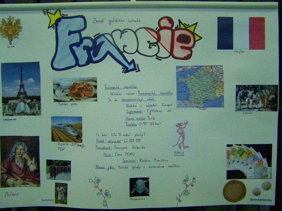 plakát Francie.