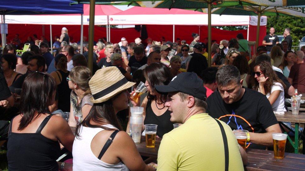 V Konstantinových Lázních se uskutečnil další ročník Revival festu. Ten přilákal během celého dne na sedm stovek návštěvníků.