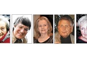 Dana Zátopková, Jan Vyčítal, Eva Pilarová, Jiří Menzel, Kamila Moučková.