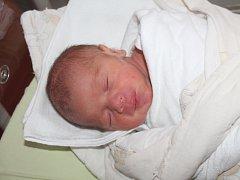 David Jiroušek ze Studánky (2765 gramů, 45 cm) se narodil v klatovské porodnici 1. května ve 12.57 hodin. Rodiče Dagmar a David věděli dopředu, že jejich prvorozené miminko bude chlapeček.