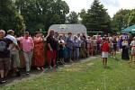 Obec o víkendu oslavila 900 let od první písemné zmínky, lidé vzpomínali a bavili se