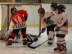 Zimní stadion v Tachově byl dějištěm turnaje žáků druhých a třetích tříd v ledním hokeji Chodovar Cup.